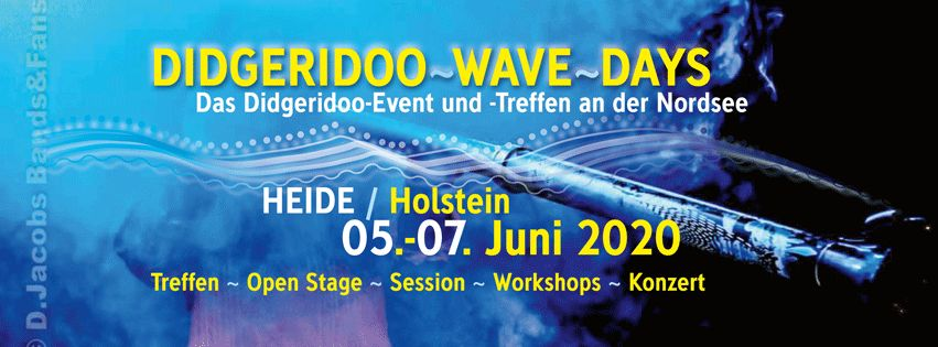 Didgeridoo Wave Days - 5.6. bis 7.6.2020